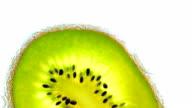 Kiwi in soda. video