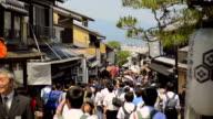 Kiyomizu-dera Temple in Kyoto video
