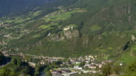 Klausen and Saeben Abbey in South Tyrol TILT UP video