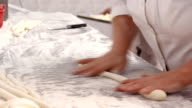 Kneading hands video