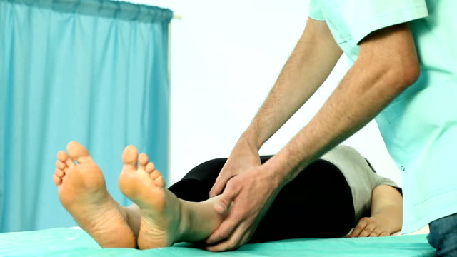 Knee rehabilitation video video