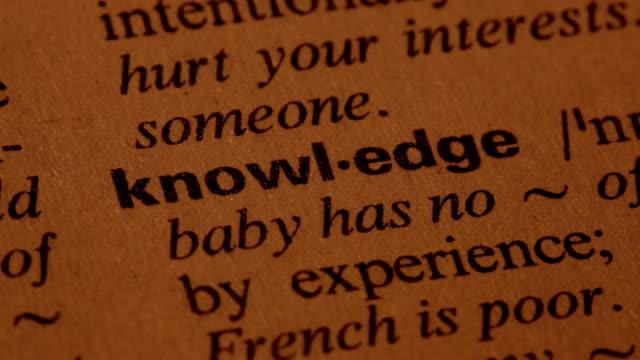 Knowledge video