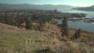 Knox Mountain Park Viewpoint, Kelowna, BC 4K UHD video