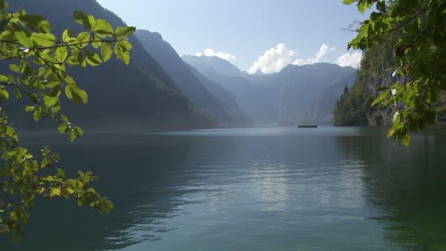 HD Koenigssee Mountain Lake video