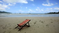 Koh Chang Beach With Deck Chair video