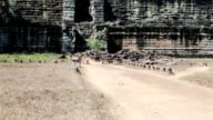 Koh Ker temple complex, death pyramid Prasat Prang, Cambodia video