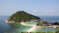 Koh Tao island in Thailand (HD) video