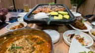 Korean BBQ video