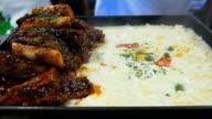 Korean style spicy pork ribs video