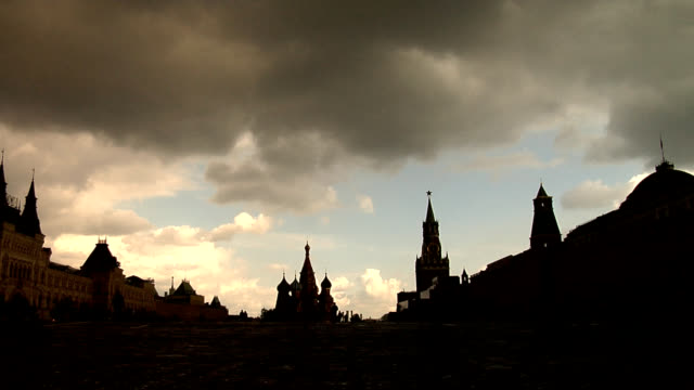 Kremlin and Red Square, Moscow, Russia. video