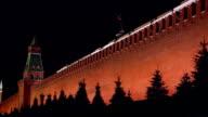 Kremlin wall. video