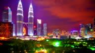 Kuala Lumpur night video