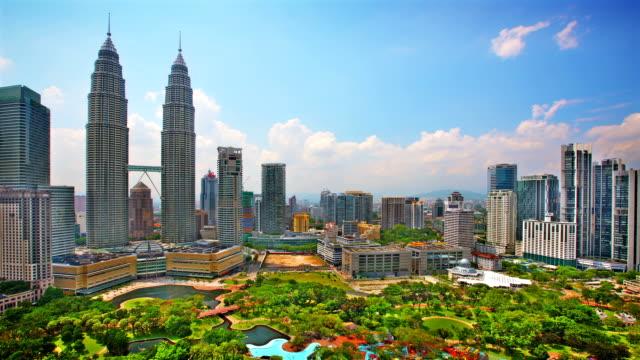 Kuala Lumpur Skyline Panorama. video