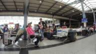 Kunming bus Terminal Station, China video