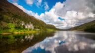 Kylemore Abbey in Ireland - Time Lapse video