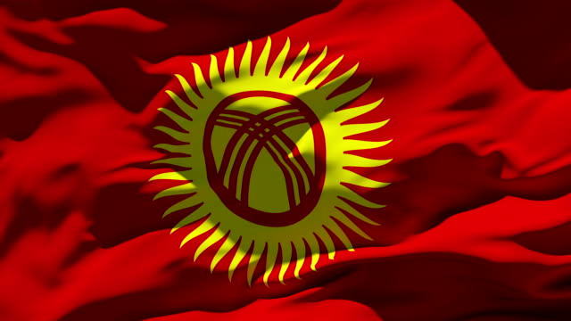 Kyrgyzstan Flag video