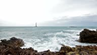 La Hague, France - Goury and the Lighthouse video