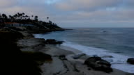 La Jolla Beach Sunrise Timelapse video