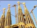 La Sagrada De Mi Familia in Barcelona Spain 2 video