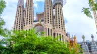 La Sagrada Familia Barcelona Spain video