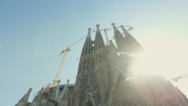 La Sagrada Familia in Barcelona, Spain video