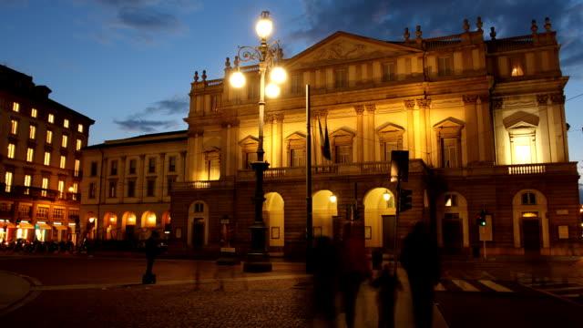 La Scala opera house, Milan video
