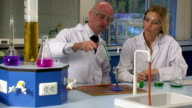 Lab workers video