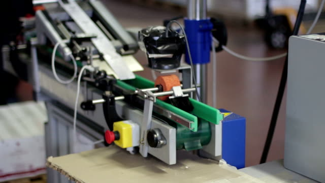 labelling in a factory video