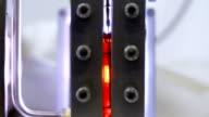 Laboratory experiment with temperature measurement video