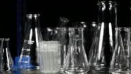 Laboratory glassware pan video