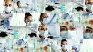 Laboratory. Video Wall video