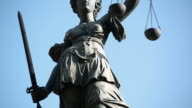Lady Justice Motion Controlled Tilt Up video