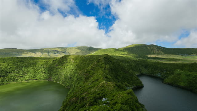 Lagoa Funda and Lagoa Comprida, Flores Island, Azores video