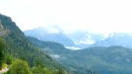 Lake Alpsee and Bavarian Alps video