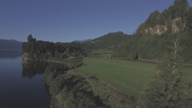 Lake and Farmland video