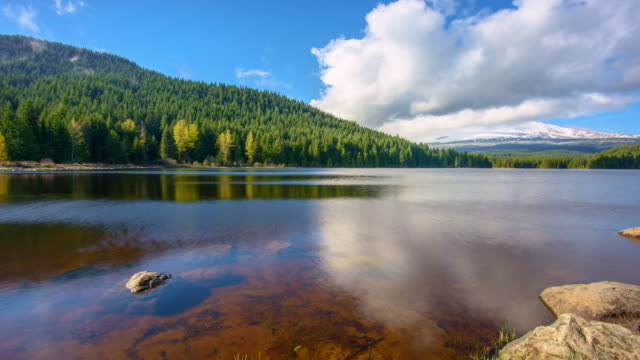Lake and Mountain video