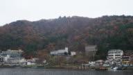 Lake at Kawaguchiko in Japan video