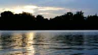 Lake at The Sunset video
