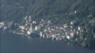 Lake Como  - Aerial View - Lombardy, Provincia di Como, Brienno, Italy video