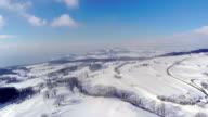 4K Lake Geneva Panorama aerial video