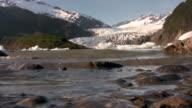 Lake glacier water mountains alaska patagonia mendenhall alps sweden granite video