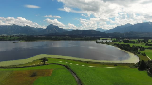 Lake Hopfensee In Bavarian Allgau video