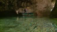 A lake in cavern video