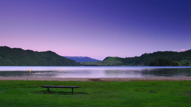 Lake in Twilight video