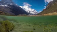 Lake in Yading national reserve video