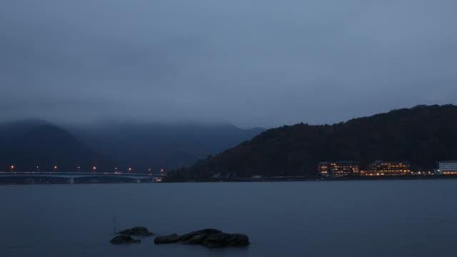 lake kawaguchiko Timelapse video