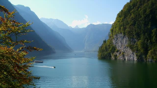 Lake Koenigssee In The Bavarian Alps video