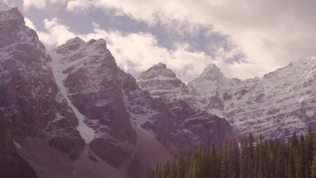 Lake Louise in Alberta, Canada timelapse video