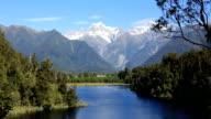 Lake Matheson Panorama, New Zealand video