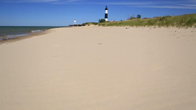 Lake Michigan Beach video